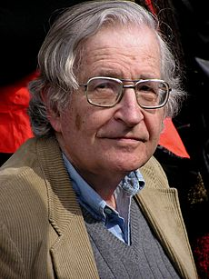 http://en.wikipedia.org/wiki/Noam_Chomsky