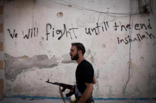 The Free Syrian army has been battling ISIL across Syria after coming under attack by the armed group [AP]