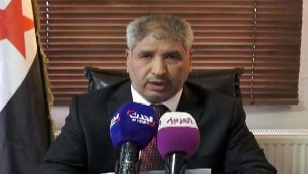 Free Syrian Army Chie Brigadier General Abdel Ilah al-Bashir speaking to Al Arabiya. (Al Arabiya)