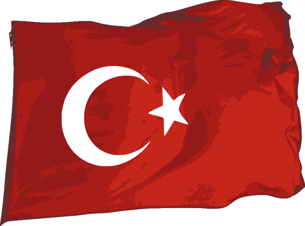 By Nevit Dilmen (Image:Turkishflag.jpg) [CC BY-SA 2.0], via Wikimedia Commons