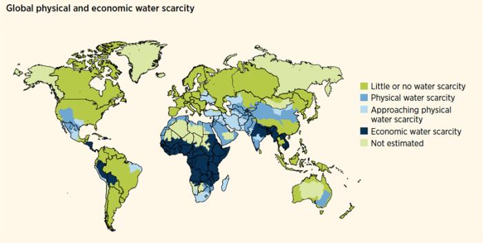 Source: World Water Development Report 4. World Water Assessment Programme (WWAP), March 2012.