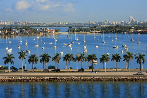 South Florida's low-lying land and extensive coastline make it exceptionally vulnerable to rising sea levels. Photo credit: Shutterstock