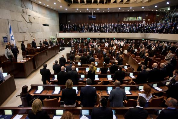 There are no ultra-Orthodox women in the Israeli parliament. Photo by Uriel Sinai/AFP/Getty Images