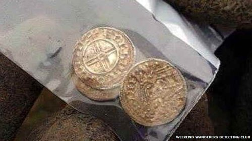 "A coroner will now decide if the hoard is ""treasure"""