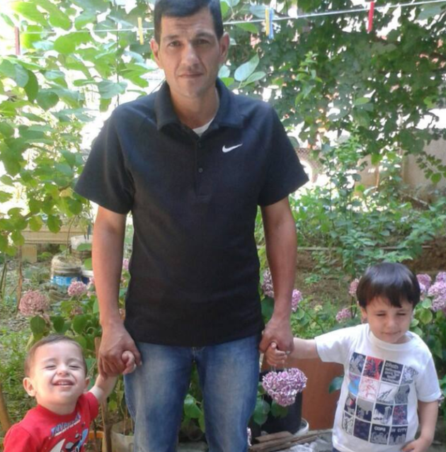 Abdullah Kurdi lost both his sons, Alan and Ghalib, in the waters off Turkey