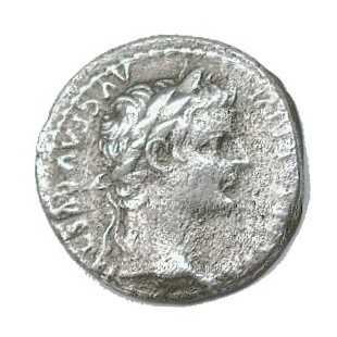 Coin of Emperor Tiberius