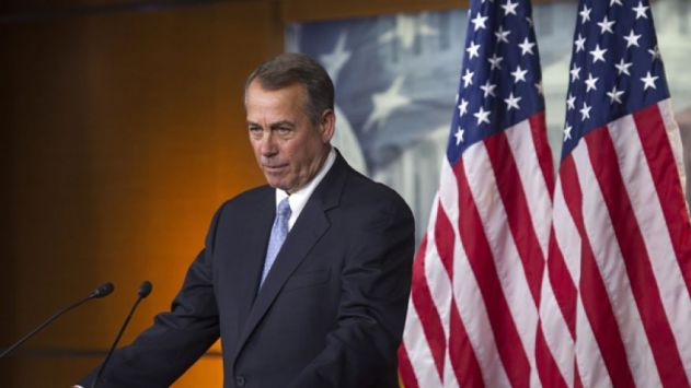 Nov. 6, 2014: House Speaker John Boehner at news conference on Capitol Hill, in Washington, D.C. (AP)