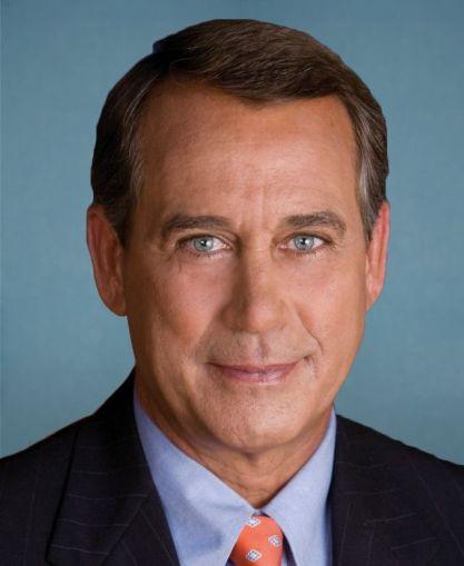 Jonh Boehner, Speaker of the United States House of Representatives