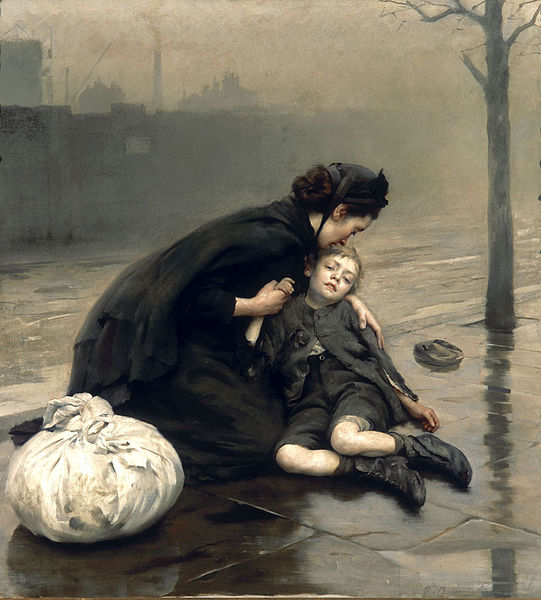 Thomas_Kennington_-_Homeless_(1890)