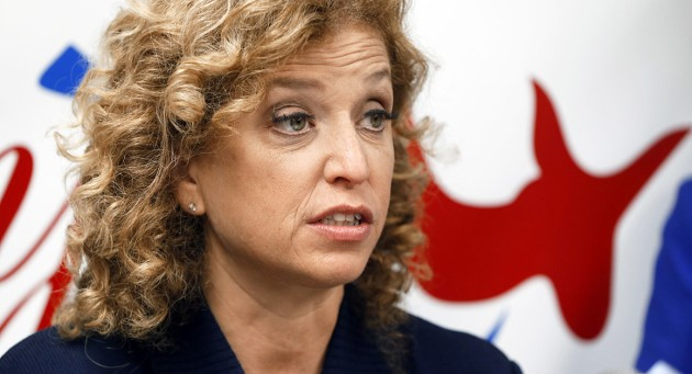 Debbie Wasserman Schultz will step down from her position as DNC chairwoman at the end of the Democratic National Convention this week. | AP Photo