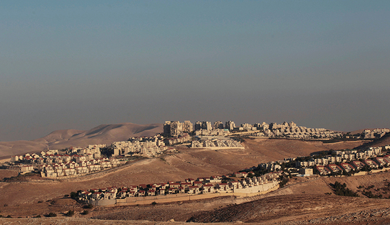 A view of the West Bank Jewish settlement of Maale Adumim is seen near Jerusalem July 25, 2013. REUTERS/Ammar Awad/File Photo - RTX2JRJ5