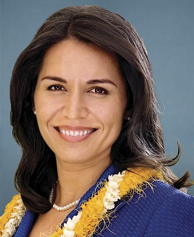 Congresswoman Tulsi Gabbard, (D) Hawaii